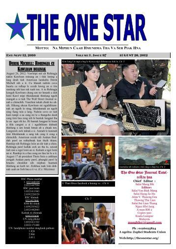 OSJ Aug 26 PDF - The One Star News