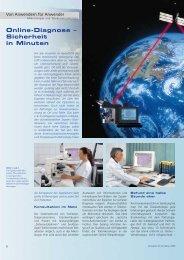 Online-Diagnose – Sicherheit in Minuten - Carl Zeiss