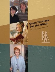 State Services for the Blind