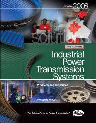 2008 Gates Industrial Power Transmission Systems - Luksiczuanic.cl