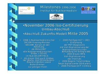 Milestones Institut Nuklearmedizin Steyr - 1. Steyrer Faschingsevent ...