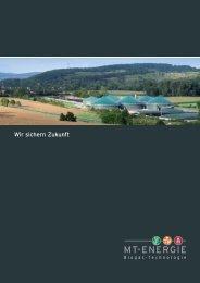 Wir sichern Zukunft - MT-Energie GmbH