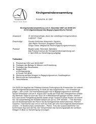 KGV vom 5. Dezember 2007 - Kirchgemeinde Wünnewil Flamatt ...