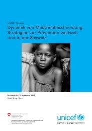 Dynamik von Mädchenbeschneidung. Strategien zur Prävention ...