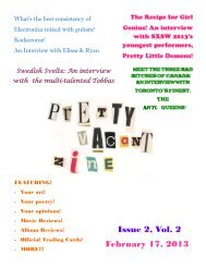 Issue 2, Vol. 2 February 17, 2013