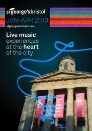 Jan-aPR 2013 - St George's Bristol