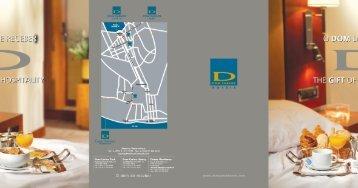 Flyer DOM CARLOS HOTÉIS - Dom Carlos Liberty