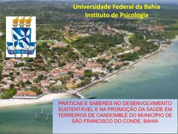 Universidade Federal da Bahia Instituto de Psicologia