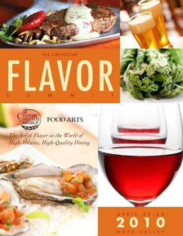 The Art of Flavor in the World of High-Volume ... - CIAProChef.com
