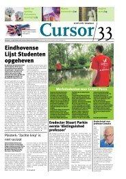 Cursor 33 - Technische Universiteit Eindhoven