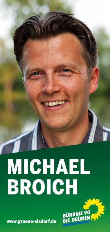 MICHAEL BROICH - Gruene-Elsdorf