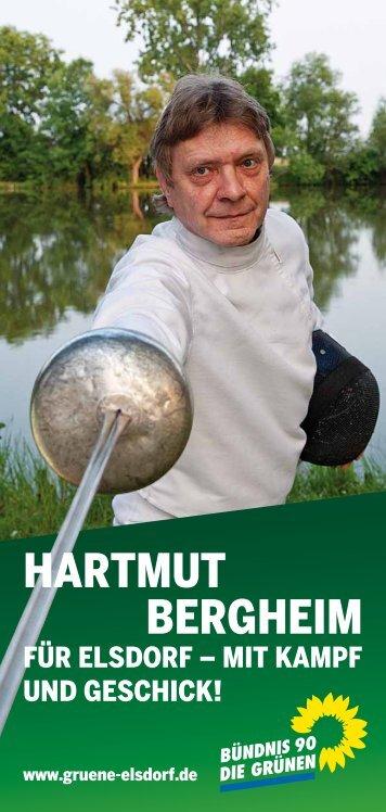 HARTMUT BERGHEIM - Gruene-Elsdorf