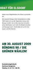 HARTMUT BERGHEIM - Gruene-Elsdorf - Seite 5