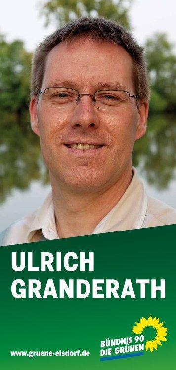 ULRIch GRaNDERaTh - Gruene-Elsdorf