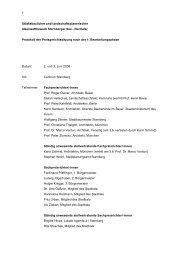 Protokoll der Preisgerichtssitzung nach der 1 ... - Competitionline