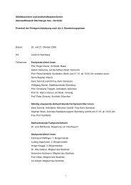 Protokoll der Preisgerichtssitzung nach der 2 ... - Competitionline