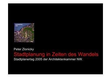 Stadtplanung in Zeiten des Wandels - Architektenkammer Nordrhein ...
