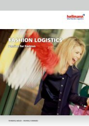 FASHION LOGISTICS - Hellmann Worldwide Logistics