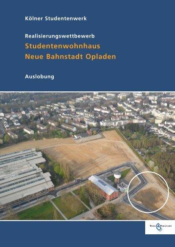 Studentenwohnhaus Neue Bahnstadt Opladen - Drees & Huesmann