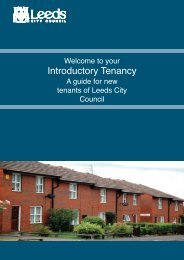 Introductory Tenancy - Leeds City Council