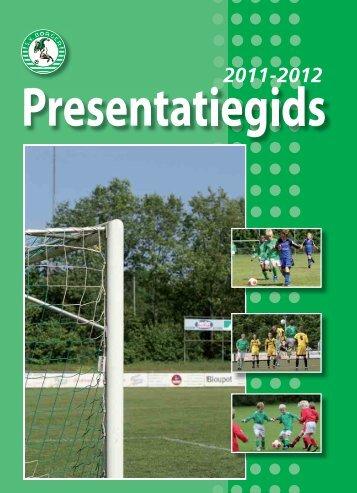 Pres.Gids 2011-2012.indd - SV Borger