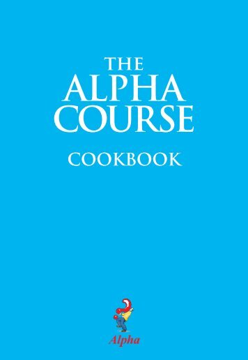 Alpha-Cook-Book