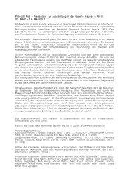 Pressetext PIPI - Hauser & Wirth