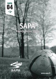 Kausijulkaisu 2004 - SAPA