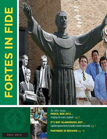 Fortes In Fide Fall 2012 - Bishop Timon St. Jude High School