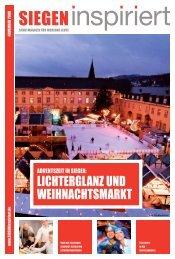 SIEGENinspiriert Ausgabe November 2008 - Gesellschaft für ...