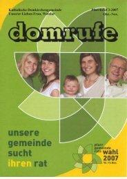 Domrufen - Dom Wetzlar