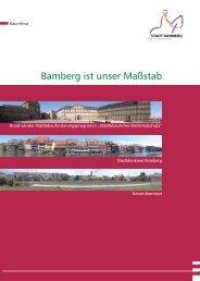 Bamberg ist unser Maßstab - Stadtplanungsamt - Bamberg