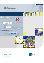 Solid Edge® - PBU CAD-Systeme