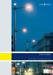 Broschüre Licht ist Leben - Europoles