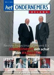 Revivre Projectmanagement BV combineert een schat aan expertise