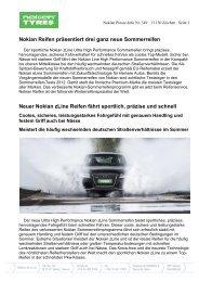 Nokian Reifen präsentiert drei ganz neue ... - Nokian Tyres