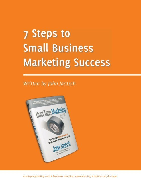 7 Steps to Small Business Success For Therapists