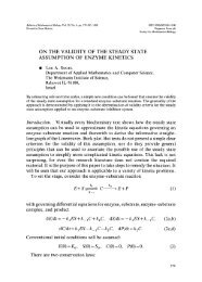On the validity of the steady state assumption of enzyme kinetics