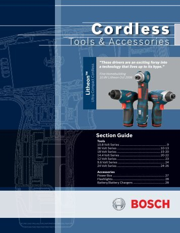 Cordless - Econ engineering