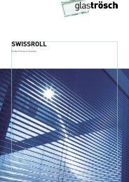 SWISSROLL L, die Lamelle im Isolierglas - Glas Trösch