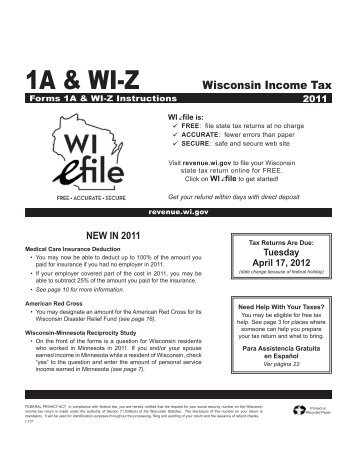 Wisconsin Department Of Revenue E File Your Tax Return Get