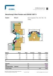Berechnung U-Wert Fenster nach EN-ISO 10077-1