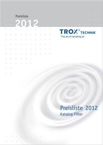 Trox PL 2012 Filter [pdf]