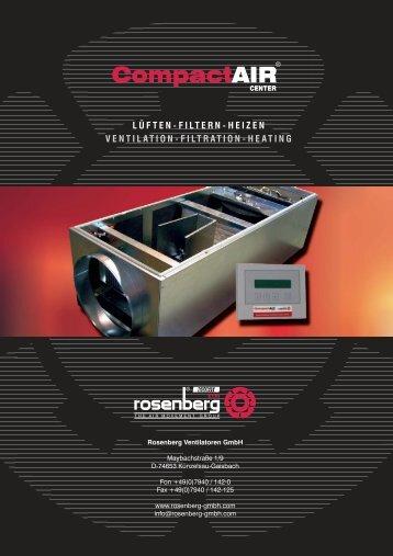 CompactAIR - Rosenberg Belgium - Shop