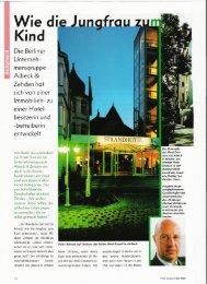 Wie die Jungfrau zum Kind - Albeck & Zehden Hotels