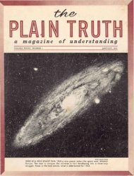 Plain Truth 1963 (Vol XXVIII No 01) Jan - Herbert W. Armstrong
