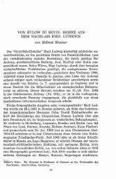 BRIEFE AUS DEM NACHLASS EMIL LUDWIGS von Helmut Kreuxer