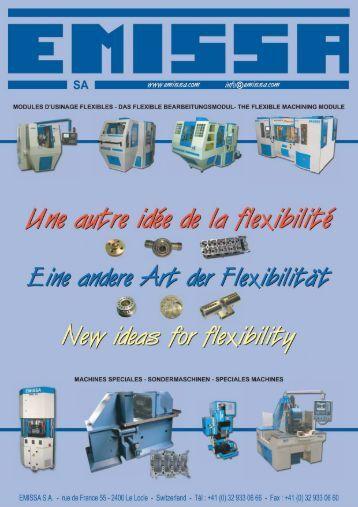 telechargez maintenant notre catalogue complet - EMISSA SA