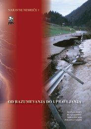 od razumevanja do upravljanja - Geografski inštitut Antona Melika ...