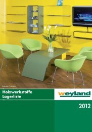 Holzwerkstoffe_08201.. - Weyland GmbH
